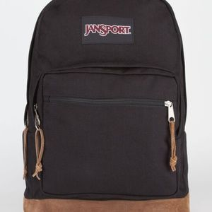 New Jansport Right Pack Black Backpack
